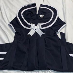 EUC Girls Sailor Dress